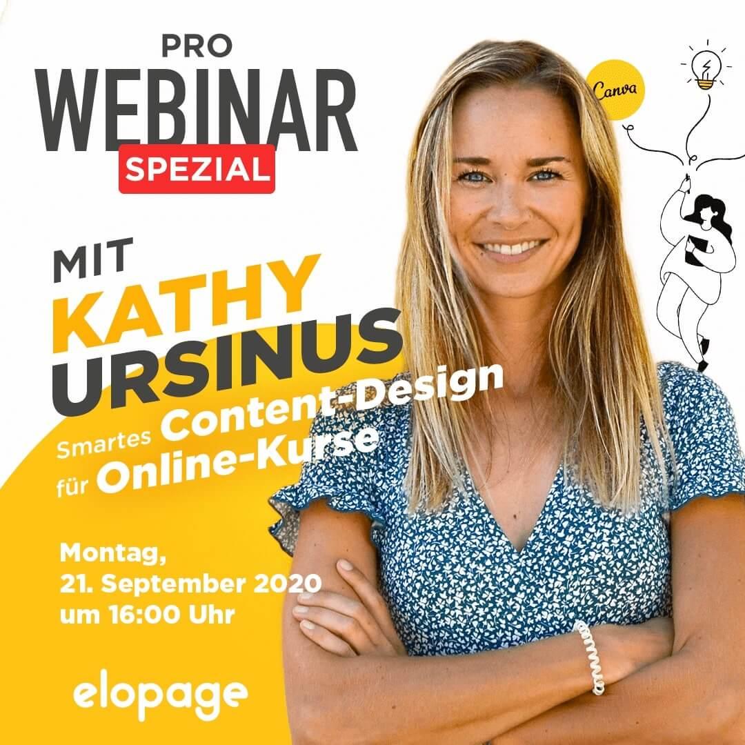 Webinar Special Kathy Ursinus